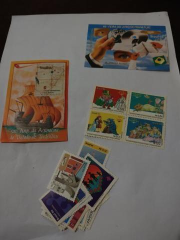 Selos antigos e alguns mas atuais - Foto 2
