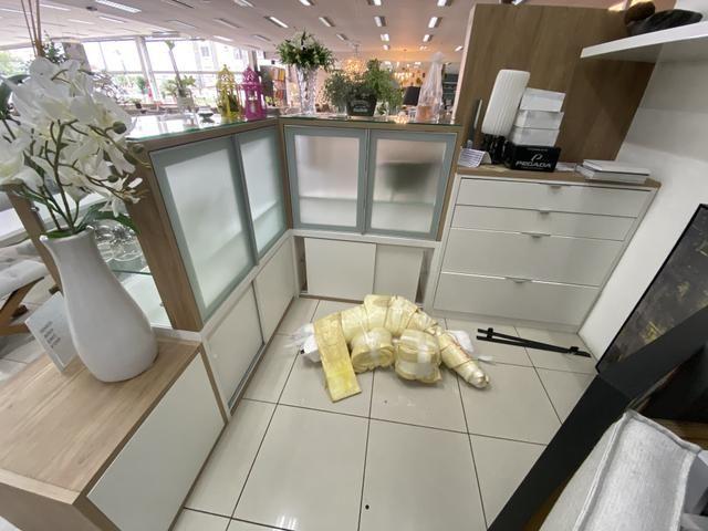 Quiosque para vendas em shopping