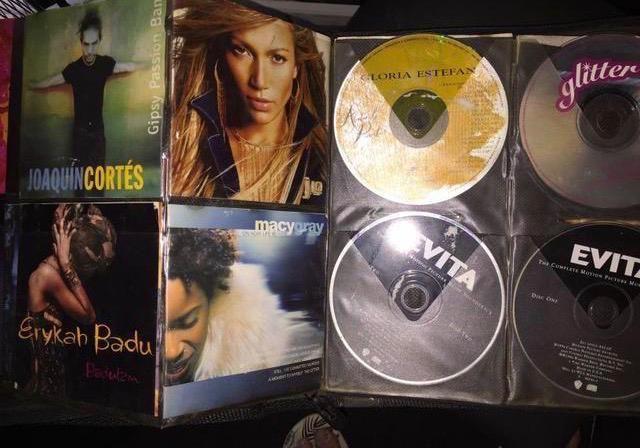 Porta CDS grande para 400 com 100 cds
