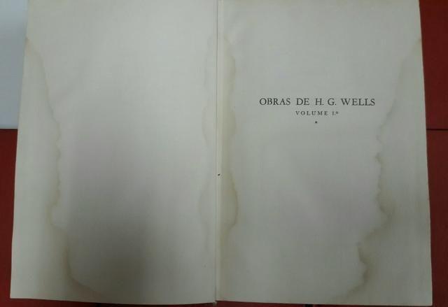 Livros Obras de H.G. Wells volumes 1 ao 10 - Foto 3