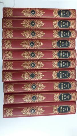 Livros Obras de H.G. Wells volumes 1 ao 10 - Foto 2