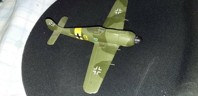 Lote com 5 aviões da segunda guerra mundial - Foto 6