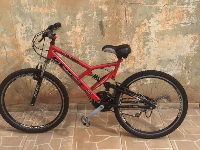 Bicicleta GPS Full suspension