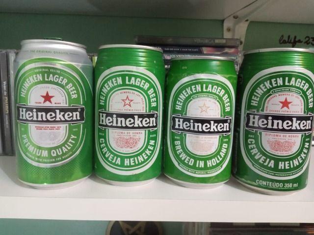 Lote Coleção de Latas Cervejas Importadas Holanda Anos 90 - Foto 5