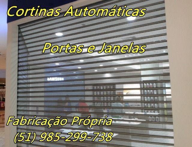 Janelas Portas e Cortinas de Enrolar Automáticas Fábrica em Porto Alegre - Foto 5