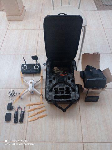 Drone Hubsan H501s Pro aeromodelo bateria - Foto 4