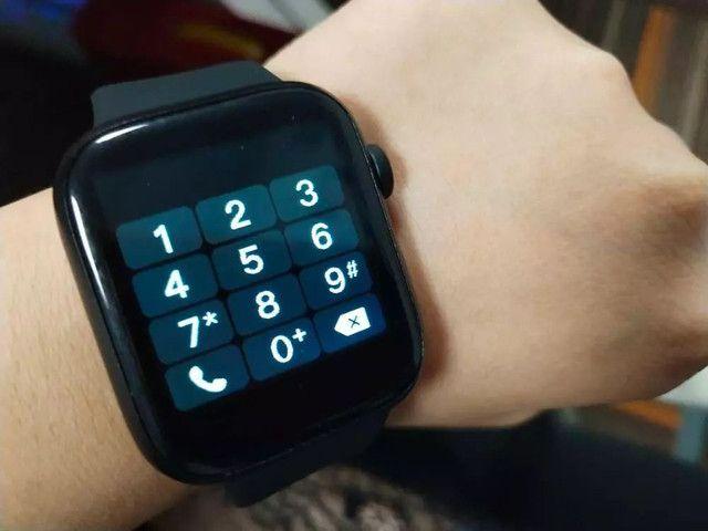 Smartwatch X7 Preto - Foto 6