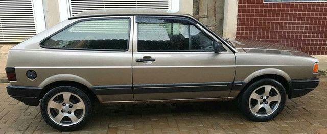 Volkswagen gol GL motor 1.8 cor bege ano 1991 muito conservado. - Foto 7