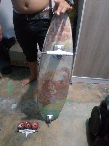 Vendo Skate em forma de prancha - Foto 2