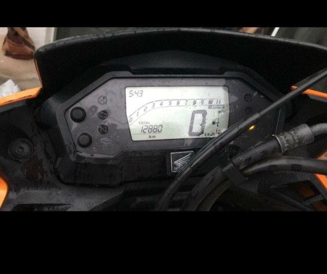 Moto seminova 12.000 Km Rodado - Foto 2
