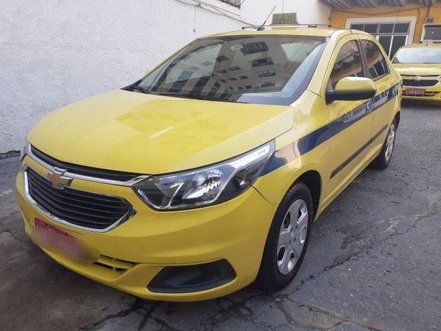 taxi cobalt + autonomia lt 1.4 unico dono. impecável - Foto 3