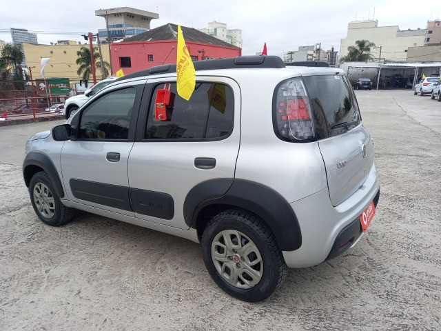 2005. Fiat Uno Way 1.3 Completo 2021 - 42.000 km - Abaixo da Fipe - Foto 4