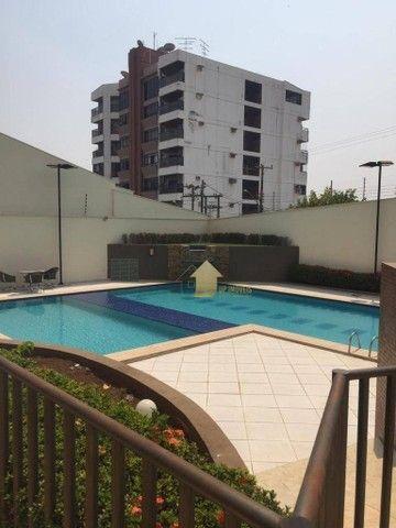 Apartamento com 3 dormitórios para alugar, 109 m² por R$ 2.000,00/mês - Quilombo - Cuiabá/ - Foto 20