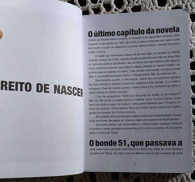 Livro Erasmo Carlos Minha Fama de Mau - Foto 5