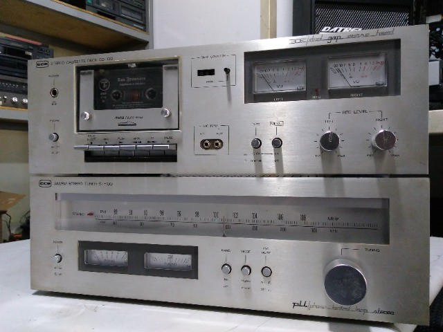 Tuner + tape deck cce