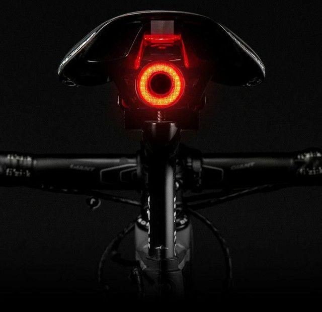 Luz Inteligente para Ciclismo sensor de luz, alerta de freio pisca - Foto 6