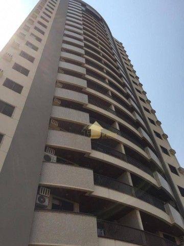 Apartamento com 3 dormitórios para alugar, 109 m² por R$ 2.000,00/mês - Quilombo - Cuiabá/