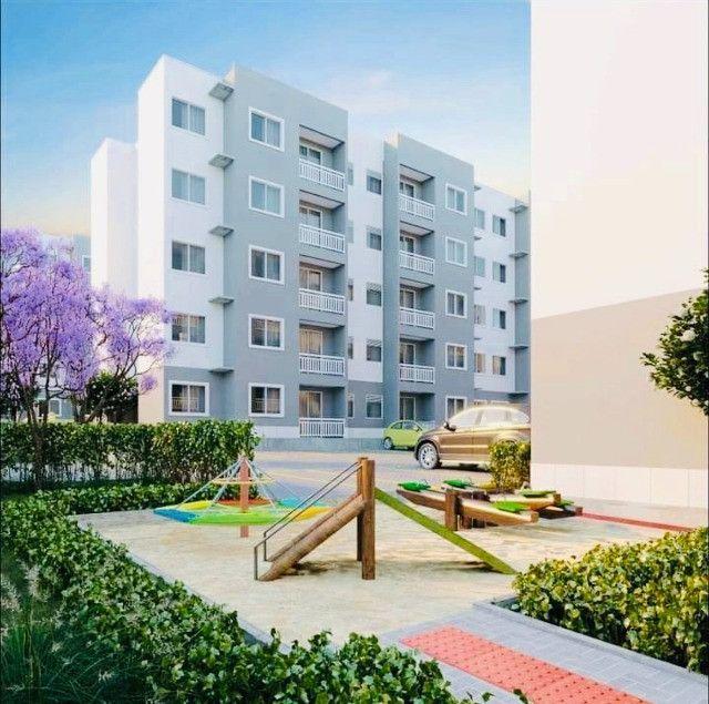 WS apartamentos com 2 quartos 2 banheiros com entrada parcelada em ate 60x - Foto 2