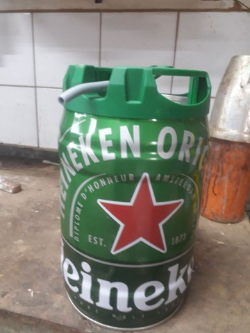 Lata de serveja vasia 5 litros. 20 unidades  - Foto 2