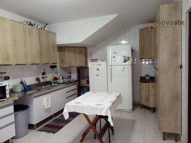 Sobrado com 4 dormitórios para alugar, 260 m² por R$ 4.500,00/mês - Vila Homero Thon - San - Foto 12