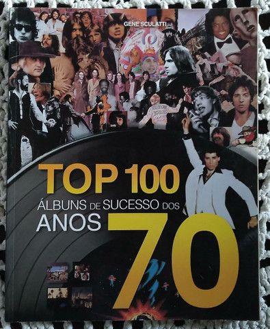 Livro TOP 100 Albuns de Sucesso dos Anos 70