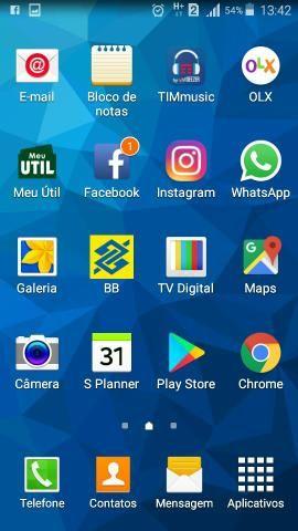 Vendo celular samsung grand prime duos com tv com tela de 5 polegadas