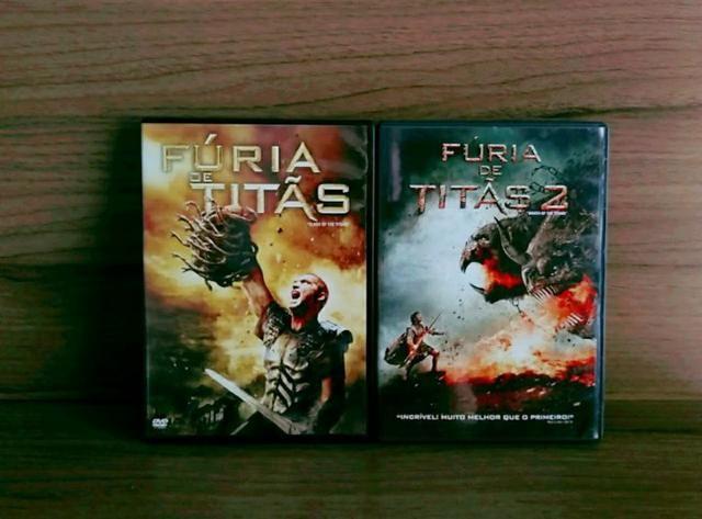 DVDs: fúria de Titãs volume: 1,2
