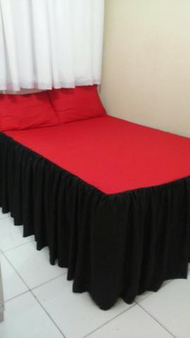 Colchas de cama com babados