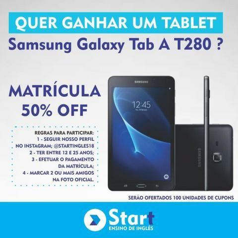 Curso de ingles que te dá um tablet Samsung