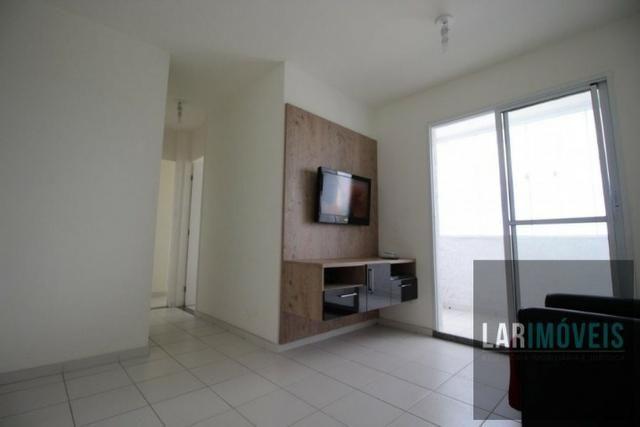 Apt 2 quartos, com varanda, lazer completo, em Chácara Parreiral - Serra