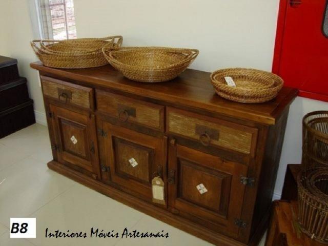 Mesas,cadeira, aparadores e racks é na Interiores móveis artesanais - Foto 4