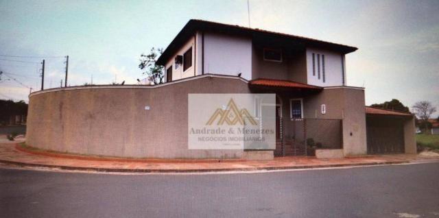 Sobrado com 4 dormitórios à venda, 249 m² por r$ 650.000 - jardim das acácias - cravinhos/