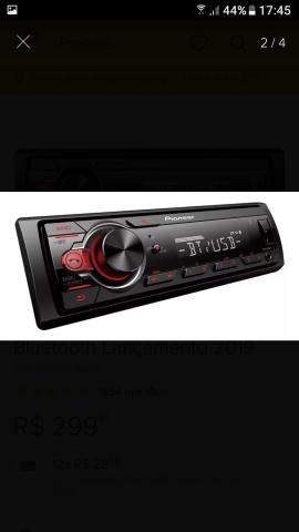 Radio carro semi novo - Foto 2