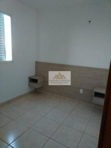 Apartamento com 2 dormitórios para alugar, 50 m² por r$ 850/mês - ipiranga - ribeirão pret - Foto 11