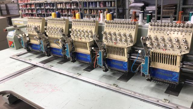 Máquina de bordado