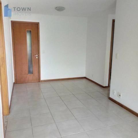 Apartamento com 2 dormitórios para alugar, 58 m² por R$ 1.200/mês - Piratininga - Niterói/ - Foto 3