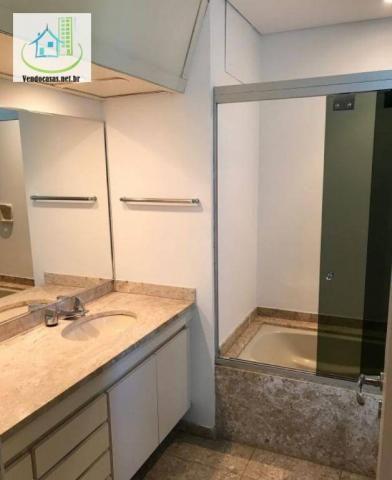 Apartamento com 5 dormitórios para alugar, 541 m² por r$ 23.000/mês - santo amaro - são pa - Foto 16