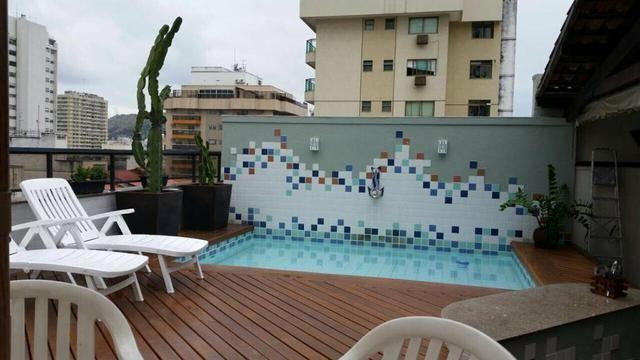 Cobertura Icaraí, segunda quadra da praia, 500 m2 - Foto 2