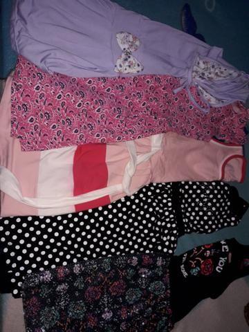 a38d761492 Lote de roupa infantil feminina 6 a 10 anos - Artigos infantis ...