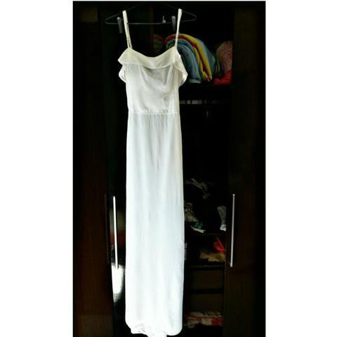 0576b22bd Vestido longo branco - Roupas e calçados - Campo Grande, Rio de ...