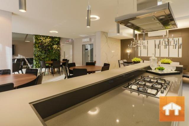 Apartamento Quadra Mar com 04 suítes - Mobiliado e decorado - Meia praia Itapema SC - Foto 16