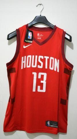 428bb0285 Camisa de Basquete Houston Rockets James Harden 13 Nova - Roupas e ...