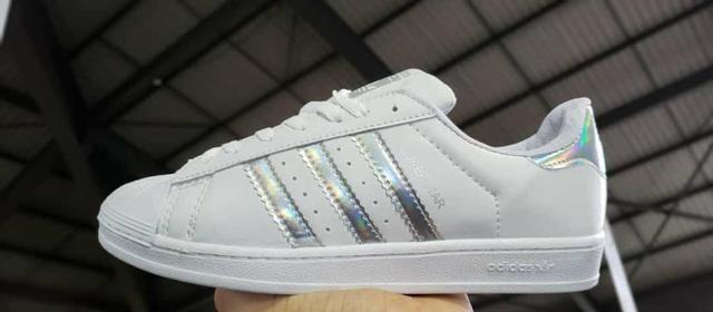 08f69828ce0 Tênis Adidas Superstar Branco com Griter - Roupas e calçados ...