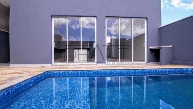 VF Sobrado casa com piscina Golden Park Hortolândia 3 quartos sendo 1 suite com closet