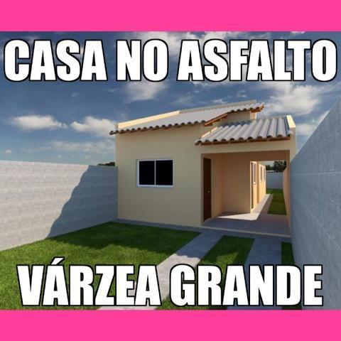 Casa Nova No Asfalto Várzea Grande