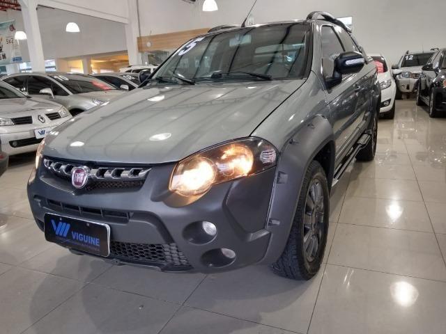 Fiat Strada Adventure CD 1.8 * 3 portas * 4 pneus novos * Abaixo da fipe