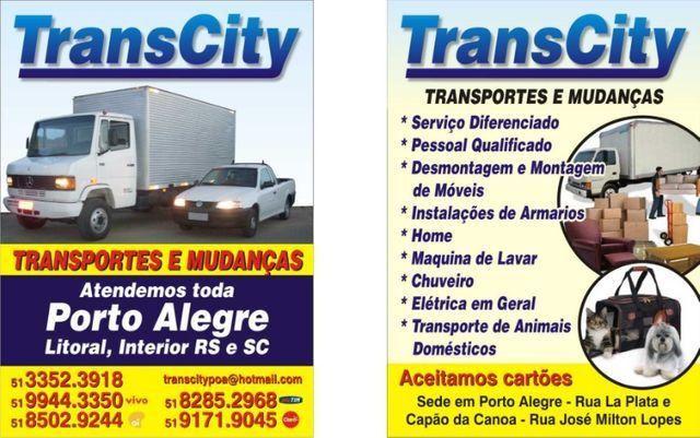 Fretes Carretos e Mudança é com Transcity Porto Alegre - Foto 2