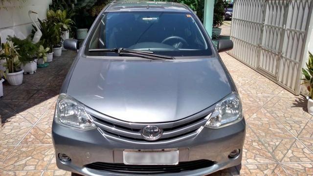 Toyota Etios 1.5 Sedan 2013 Flex Conservado IPVA e Licenciamento 2020 Pagos