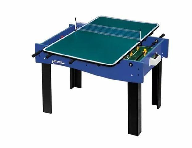 Mesa 3 Em 1 - Pebolim/Futebol Botão/Tênis de Mesa- Klopf 1058 - Foto 2