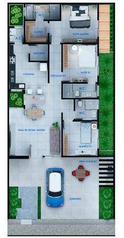 Casa no Condomínio Sol Nascente// aluguel de 3 mil reais - Foto 2